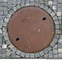 Ground Sewer Grate 0010