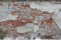 wall brick plastered