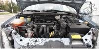 Photo Texture of Engine Compartment