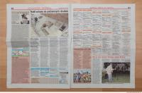 Photo Texture of Newspaper