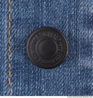 Photo Texture of Button Denim Jacket 0002