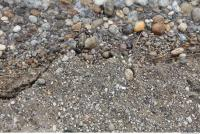 Photo Texture of Ground Gravel 0025