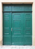 Photo Texture of Wooden Double Door 0009