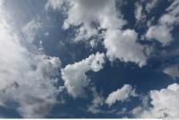 free photo texture of blue clouded clouds