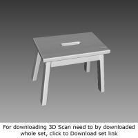 3D Scan of Cutty Stool