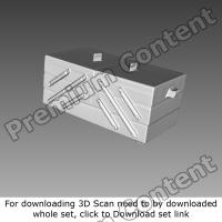 3D Scan of Box Wooden