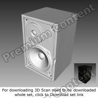 3D Scan of Speaker