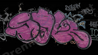 High Resolution Decal Graffiti Texture 0001
