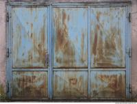 Photo Texture of Doors Metal 0020