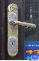 Photo Texture of Doors Handle Historical 0019