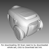 3D Scan of Vacuum Cleaner
