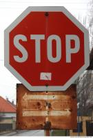 Photo Texture of Stop Traffic Sign