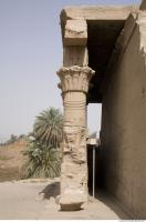 Photo Texture of Pillar Dendera 0031