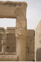 Photo Texture of Pillar Dendera 0075