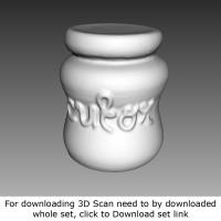 3D Scan of Ceramic Pot