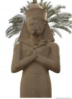 Photo Reference of Karnak Statue 0020