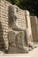 Photo Reference of Karnak Statue 0213