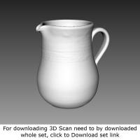 3D Scan of Jug