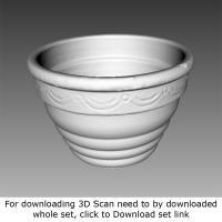 3D Scan of Flower Pot