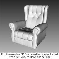3D Scan of Armchair
