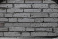 Photo Texture of Wall Brick Painted 0002