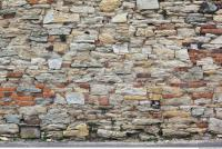 Photo Texture of Wall Stones Mixed 0008