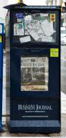 Photo Texture of Newspaper Vending Machine 0004