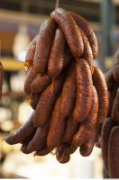 Photo Texture of Sausage