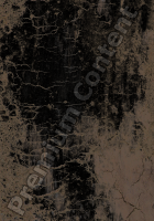photo texture of cracked decal 0008