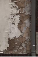 photo texture of wall plaster paint peeling 0006