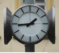 photo texture of street clock