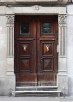 door wooden ornate 0001