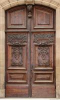 door wooden ornate 0005