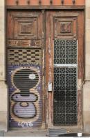 door wooden ornate 0010