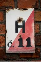 sign numbers 0001