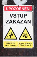 sign warning 0002