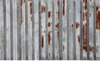 metal corrugated plates rusted 0004