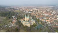 bojnice castle from above 0001