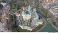 bojnice castle from above 0004
