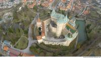 bojnice castle from above 0012