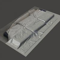 3D scan of mattress