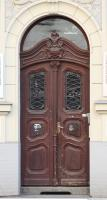 door double wooden ornate 0002