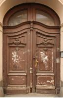 door double wooden ornate 0006