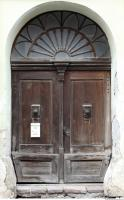 door double wooden ornate 0008