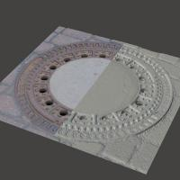 3D Scan of Manhole Cover #13