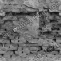seamless wall bricks bump 0011