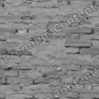 seamless wall bricks bump 0012