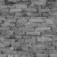 seamless wall bricks bump 0014