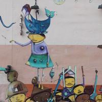 Photo Textures of Miami Graffiti