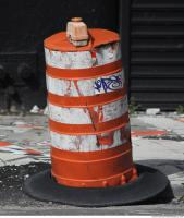 road cone damaged 0004